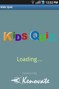 Android App Quiz for Kids for education - Kenovate Solutions